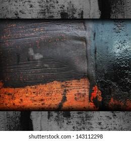 iron background metal texture rusty old rust grunge steel metallic dirty brown wall