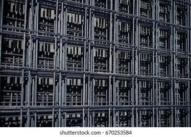 Iron bars reinforcement concrete bars for construction