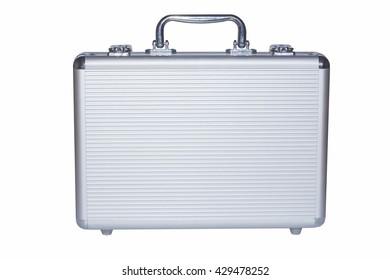 iron case on a white background