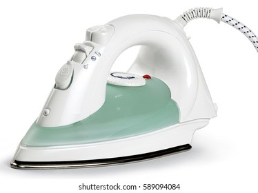 iron clothes ironing laundry electric steam object domestic