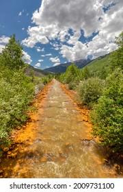 Iron Creek Ouray, Colorado USA