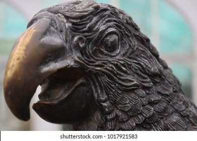 Iron eagle, left side