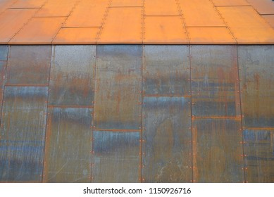 iron facade of a hosue