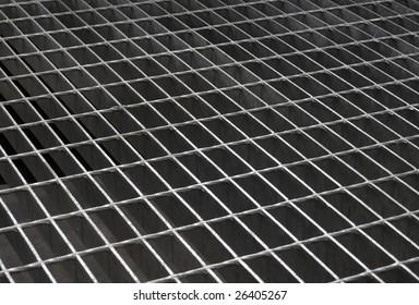 iron grid texture