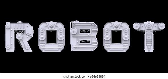 3d Robot Images, Stock Photos & Vectors