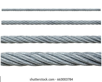iron metal cable uses in the industrial construction, stainless steel in spiral braid makes it strong, can be loaded heavy weight of mass.