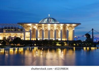 Iron Mosque Putrajaya, Malaysia