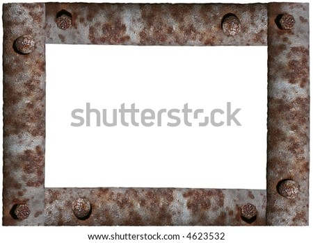 Iron Old Rusty Frame Stock Photo (Edit Now) 4623532 - Shutterstock
