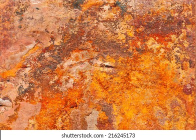 Iron Ore Rust Texture For Your Design.