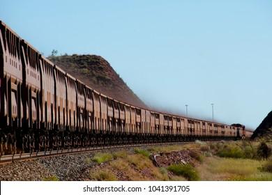 Iron Ore Train - Australia