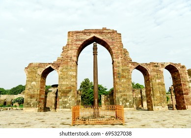 Iron Pillar of Delhi at Qutb Complex, New Delhi