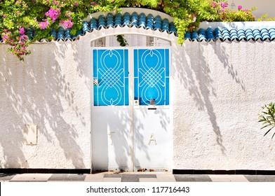 Iron portal in Tunisia