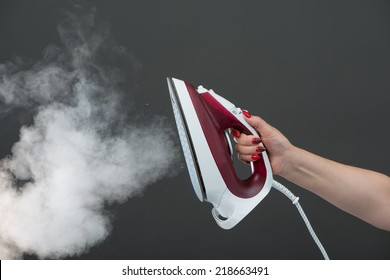 Iron with steam