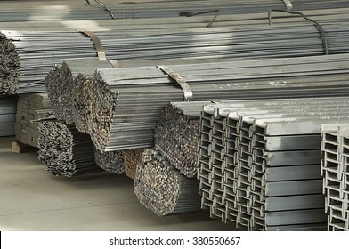 iron and steel material storage