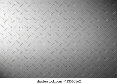 The iron steel metal diamond plate background