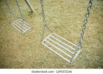 iron swinging in close up shot