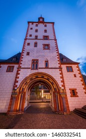 Iron Tower in Mainz at evening. Mainz, Rhineland-Palatinate, Germany.