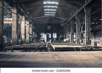 Iron workshop of shipyard