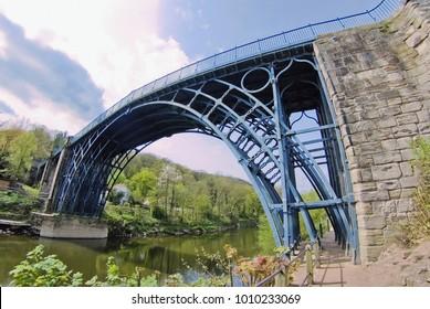 The Ironbridge gorge River Severn, Shropshire, England, UK.