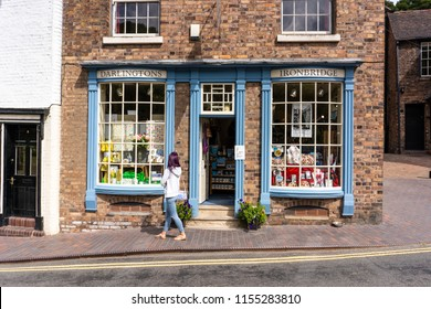 Ironbridge, Shropshire - 9th - August - 2018 - Darlingtons shop in the high street