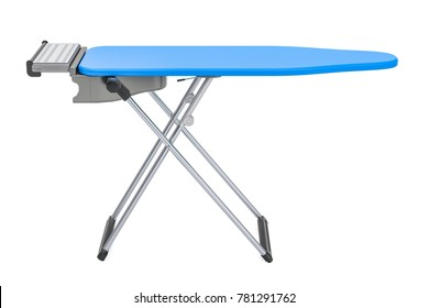 Ironing Board, 3D rendering isolated on white background