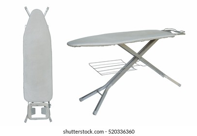 ironing board isolated.