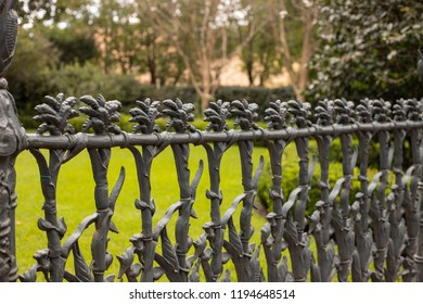 Ironwork fence In New Orleans