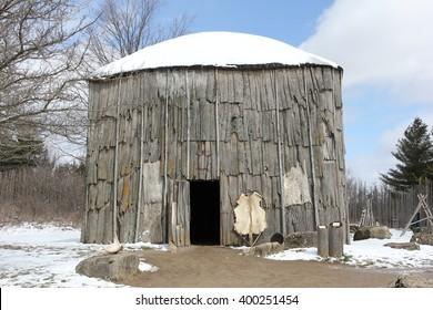 Iroquois Longhouse Native Village