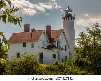 Iroquois  Point Light (1870), Lake Superior, Michigan
