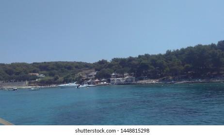 Irresistible sea in Croatia in sommer