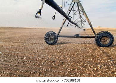 Irrigation System for farming in Pivots located at the Southern Desert of Saudi Arabia