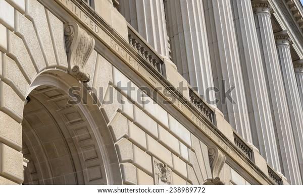 IRS Building in Washington DC