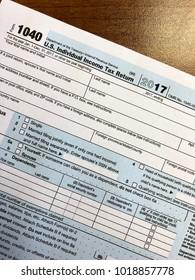 IRS Form 1040-Individual Income Tax Return
