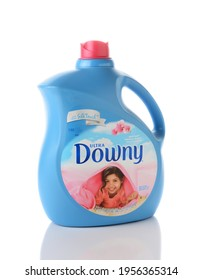IRVINE, CA - JUNE 2, 2015: A bottle of Ultra Downy Fabric Softener with Silk Touch. Produced by Procter and Gamble it was test market in August 1960 and went nationwide in December 1961.