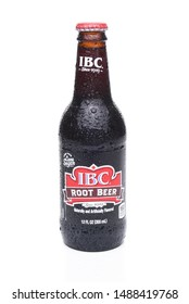 IRVINE, CA - MAY 31, 2017: IBC Root Beer bottles. IBC Root Beer was founded in 1919 by the Griesedieck family.