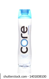 IRVINE, CALIFORNIA - MAY 20, 2019: A bottle of CORE Hydration Perfect Ph Water, with electrolytes and minerals.