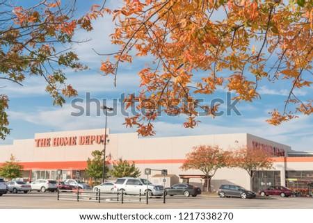 Irving Tx Usoct 30 2018 Home Depot Stock Photo Edit Now 1217338270