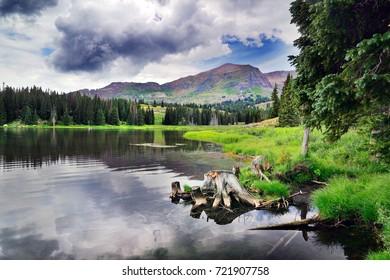 Irwin Lake, near Crested Butte Colorado