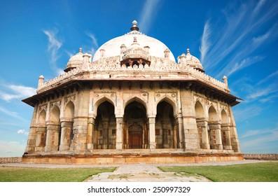Isa Khan Tomb Enclosure, Humayun's Tomb Complex, New Delhi. India.
