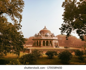 Isa Khan Tomb -The tomb of the nobleIsa Khan Niaziis located in theHumayun's Tombcomplex inDelhi, India. The mausoleum, octagonal in shape and built mainly ofred sandstone. Built in 1547–1548