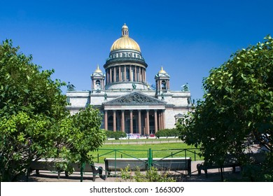 The Isaak Cathedral in St Petersburg