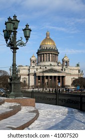 isaakievsky cathedral in Saint Petersburg