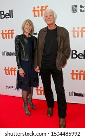 "Isabella James Purefoy Ellis (L) & Roger Deakins attend ""The Goldfinch"" premiere at Roy Thomson Hall on September 8, 2019 at the 2019 Toronto International Film Festival in Toronto, Canada."