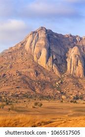 Isalo Area Madagascar, dry and bleak