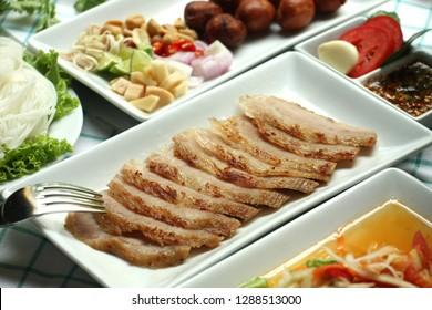 Isan food, Thai food menu, popular Thai food