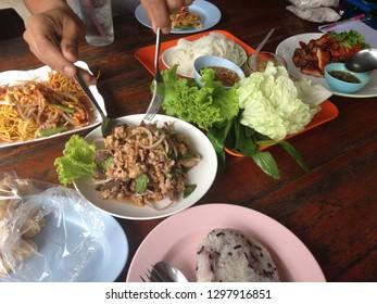 Isan Food : Thai-northeast Food.