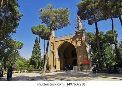 Isfahan / Iran - 04 Oct 2012: Monare Jonban, Shaking Minarates in Isfahan, Iran