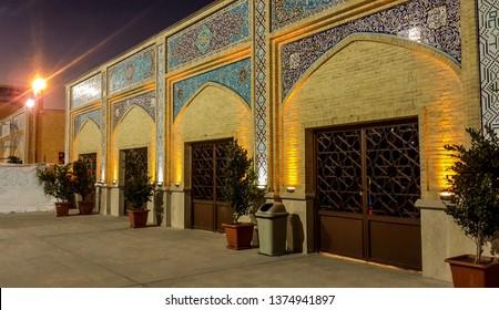 Isfahan,IRAN -April 20, 2019: Isfahan best Architectural Mazaar