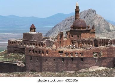 Ishak Pasha palace in eastern Turkey