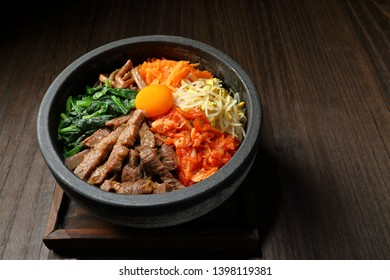 Ishiyaki bibinba, Bibimbap rice stone bowl